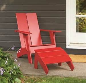 modern adirondack chair plan plans free