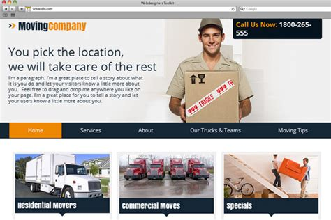 Make Movers And Packers Website For Free Templates Perfect Packers And Movers Html Templates