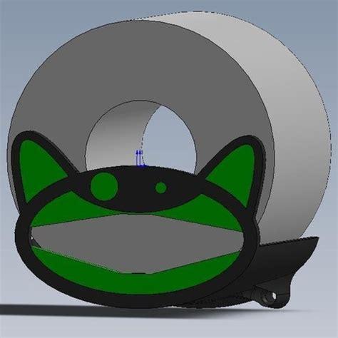 support pour rouleau de papier toilette stl model cults