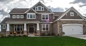 Craftsman House Plans With Walkout Basement craftsman style homes