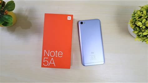 Xiaomi Note 5a Resmi Tam unboxing xiaomi redmi note 5a sudah resmi