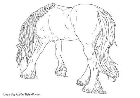 the gallery for gt draft horse sketch