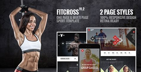 Fitness Sport Responsive Theme V9 0 fitcross responsive sport and fitness template by maskan themeforest