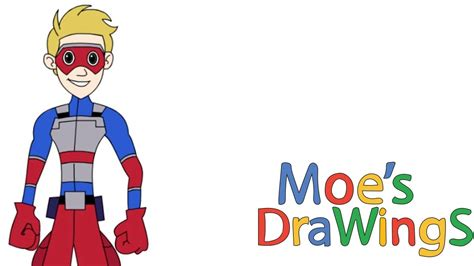 How To Draw Kid Danger