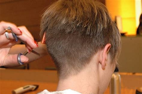cutting nape hair on men clippered womens haircuts short hairstyle 2013