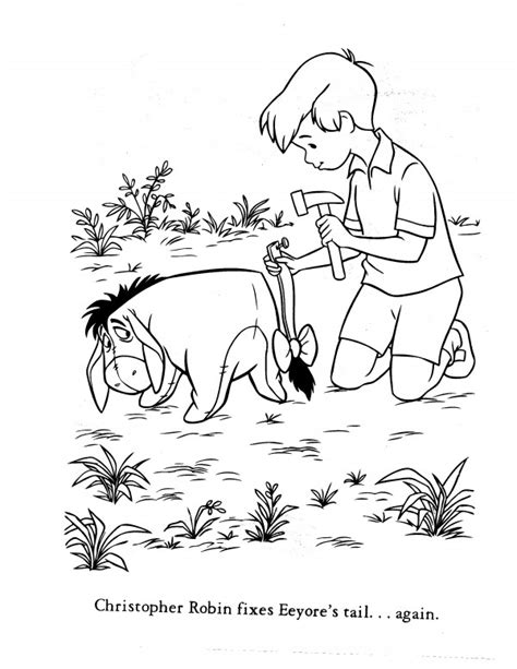 coloring pages of christopher robin free coloring pages of robin masks