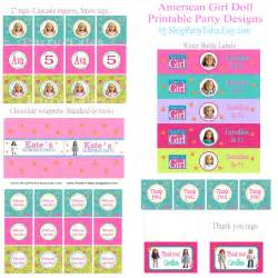 american doll crafts printable birthday party by