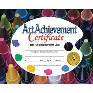 art achievement certificate va570 hayes
