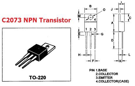 transistor mosfet c2073 c2073 datasheet vceo 150v npn power transistor mospec