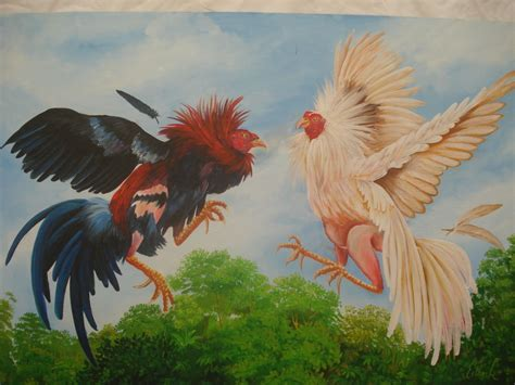 animales fotos dibujos imagenes fotos de gallos pelea de gallos 2 esther luz bucarano artelista com
