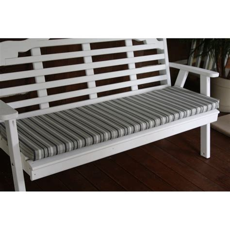 glider bench cushions 5 foot bench swing glider cushion