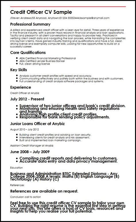 Credit Manager Resume Templates by Credit Risk Manager Resume Management Resume Summary
