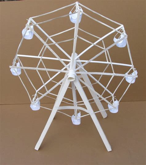 How To Make A Paper Ferris Wheel - the paper ferris wheel by thenewkidhere on deviantart