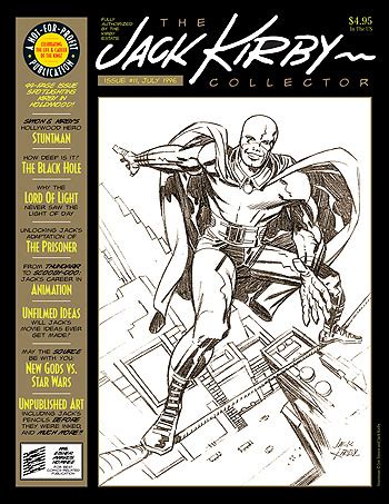 the prisoner kirby gil edition kirby collector 11 twomorrows publishing the