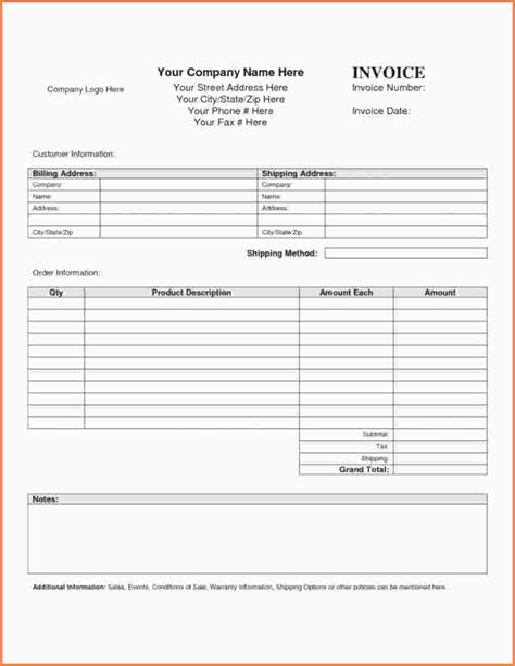 insurance invoice template 11 insurance invoice template sles of invoices