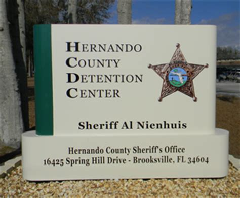 Hernando County Sheriff Arrest Records Hernando County Florida Inmate Search
