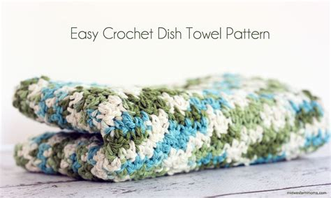 pattern crochet dish towel easy crochet dish towel pattern
