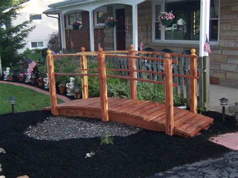 yard bridges diy yard bridge plans free