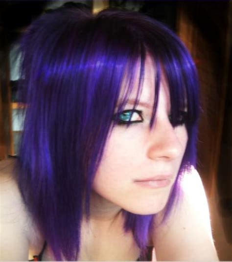 purple hairstyles for a women in her 40s emotions of life