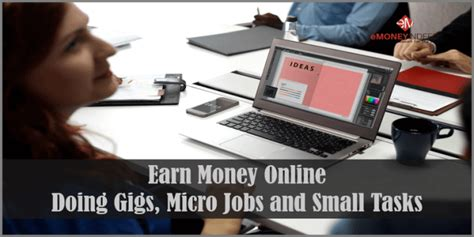 Make Money Online Doing Tasks - earn money online doing gigs micro jobs and small tasks erichoscam