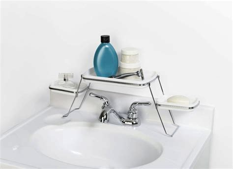over the bathroom sink organizer over the sink bathroom shelf the best organizers to buy