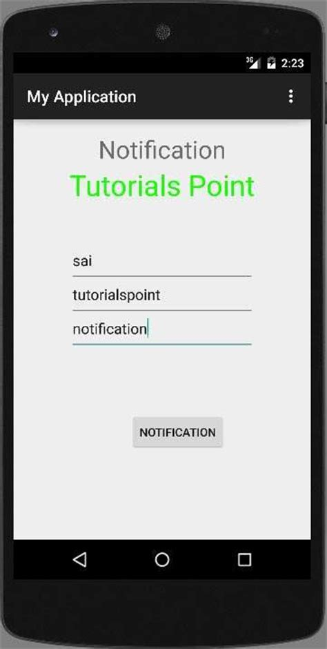 android push notifications android push notification tutorial