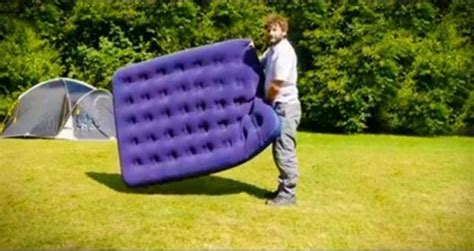 How To Up A Air Mattress Without A by Airbed Hack How To Inflate An Air Mattress Without A