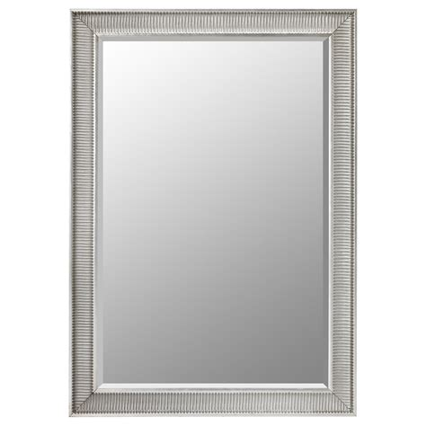 ikea mirror songe mirror silver colour 91x130 cm ikea