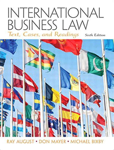 5 Quot Ray A August International Business Law Quot Books Found