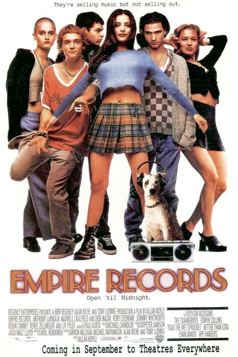 Watch Empire Records 1995 Full Movie Second Chance Empire Records
