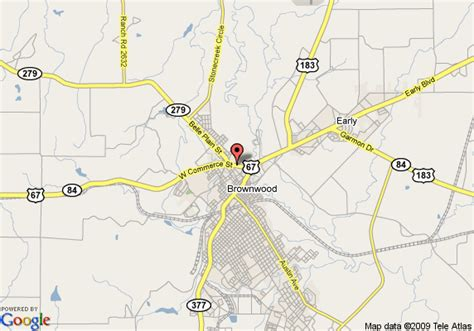 where is brownwood texas on the map map of inn express hotel suites brownwood brownwood