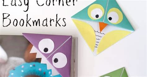 Origami Owl Bookmark - my owl barn diy easy corner bookmarks