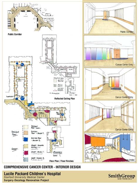 reflected floor plan oncology center floor plans oncology intake