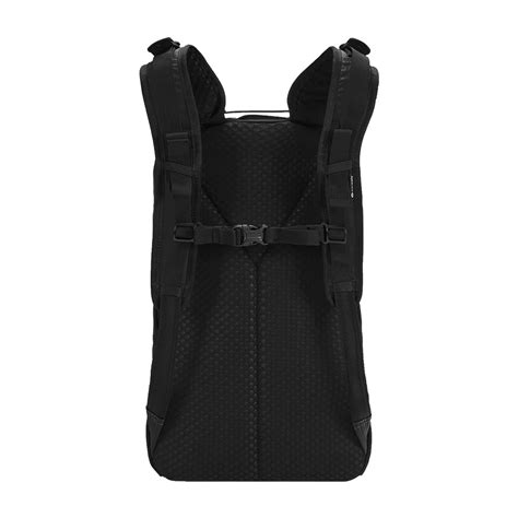 Tas Backpack 100 Anti Air 20l anti theft backpack vibe 20l in black by pacsafe