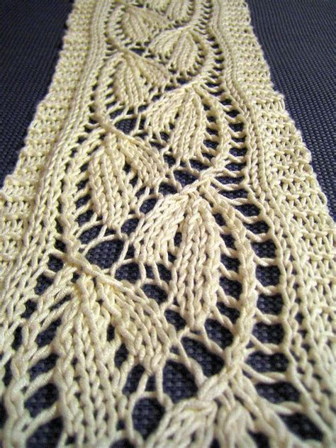 knitting pattern scarf lace lacy scarf knitting patterns in the loop knitting