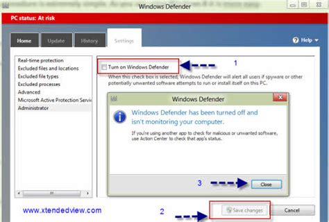 windows 8 defender turn on windows 8 how to disable and completely uninstall the