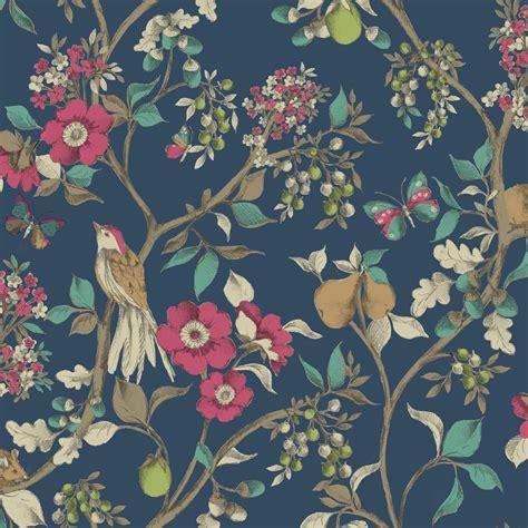 Angebot Holen Muster Neu Holden D 201 Cor Damsen Blumen Muster Vogel Landschaft