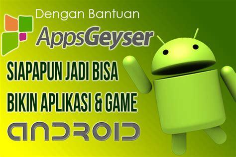 cara membuat game android yang mudah cara mudah bikin aplikasi game android tanpa coding tanpa