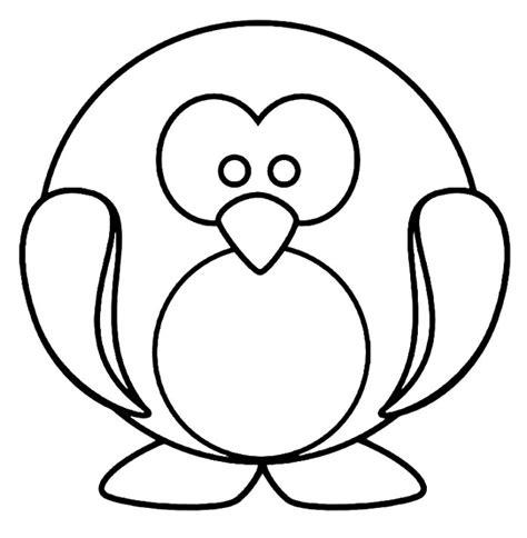 cute penguin coloring pages az coloring pages