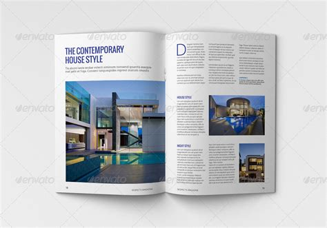magazine layout envato indesign magazine template by habageud graphicriver