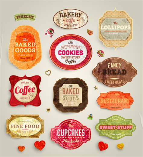label design view label tag food label template free vector download 24 774 free