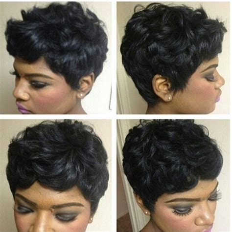 pixie cut roller curls 121 best images about 27 piece on pinterest curls black