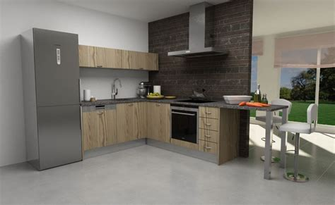 modelo de cocinas modelo de cocina con puerta tah 243 n laminado montana