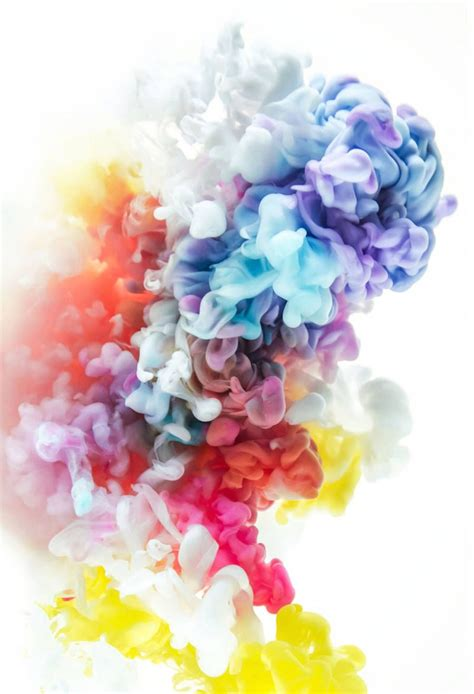 colored ink aesthetic colored abstract ink explosions wallpaper
