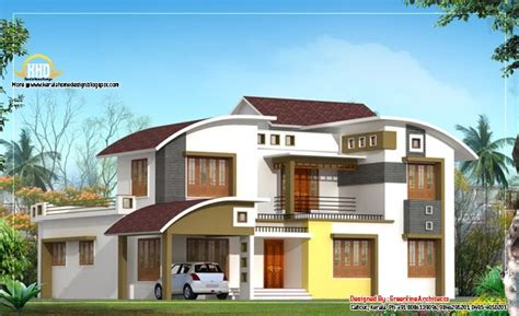 some unique villa designs home appliance modern contemporary home design 2850 sq ft home
