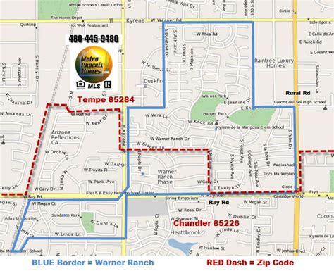 zip code map chandler az homes 4 sale warner ranch tempe 85284 valleywidehomes com