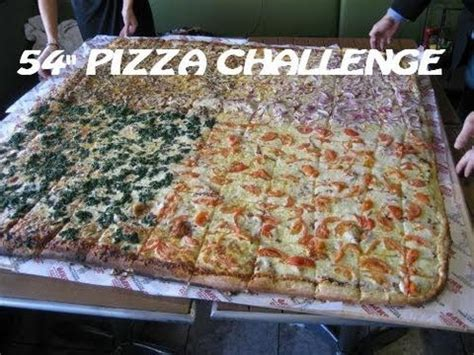 big mamas and papas pizza challenge 4 competitive eaters vs 54 quot pizza challenge big s