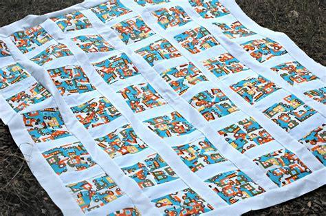 Sashing Quilt Blocks by Pinwheel Quilt Tutorial Using 2 Fabrics Sashing