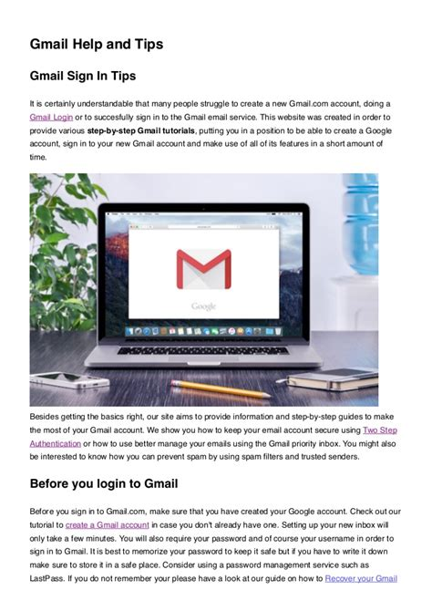 gmailcom login help with gmail sign in instructions gmail sign in how to login to gmail quickly