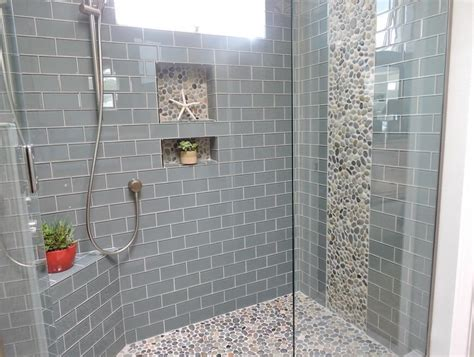 glass subway tile bathroom ideas grey subway tile for bathroom bathroom decor ideas
